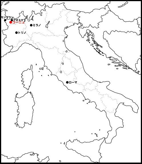 cogne_mappa